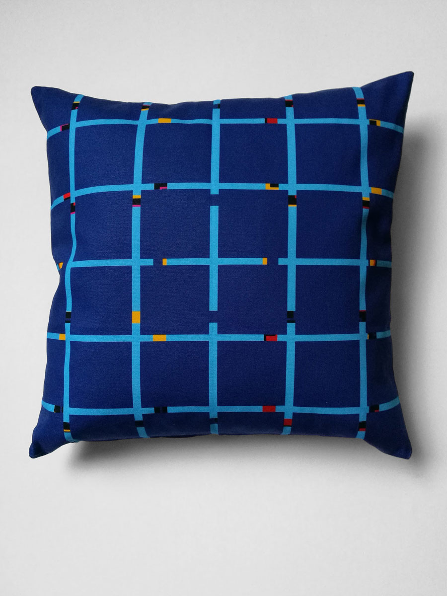 Pillow 'An-Jet Dark Blue'