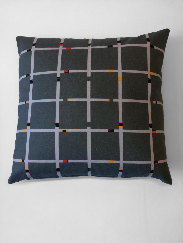 Pillow 'An-Jet Dark Grey'