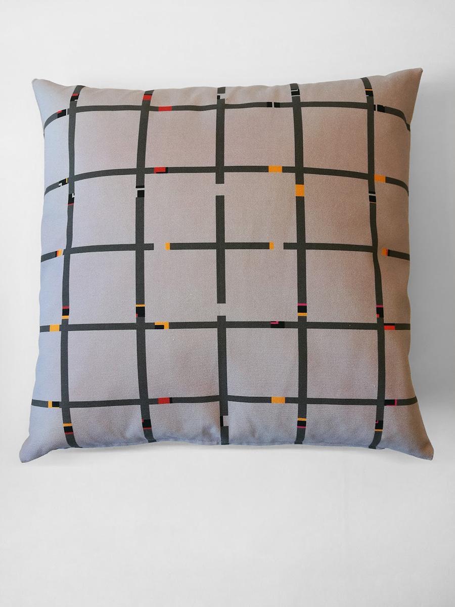 Pillow 'An-Jet Light Grey'