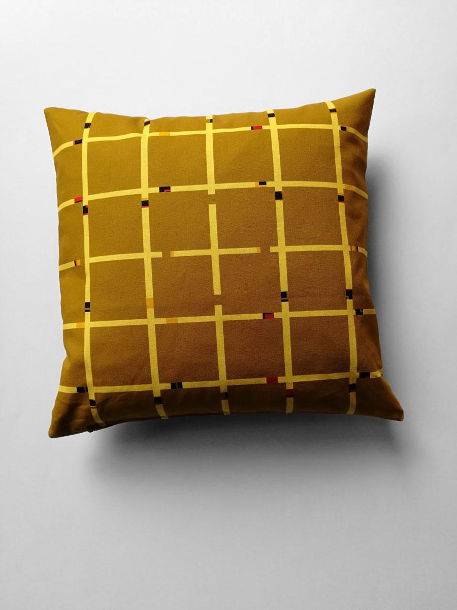Pillow 'An-Jet Mocca'