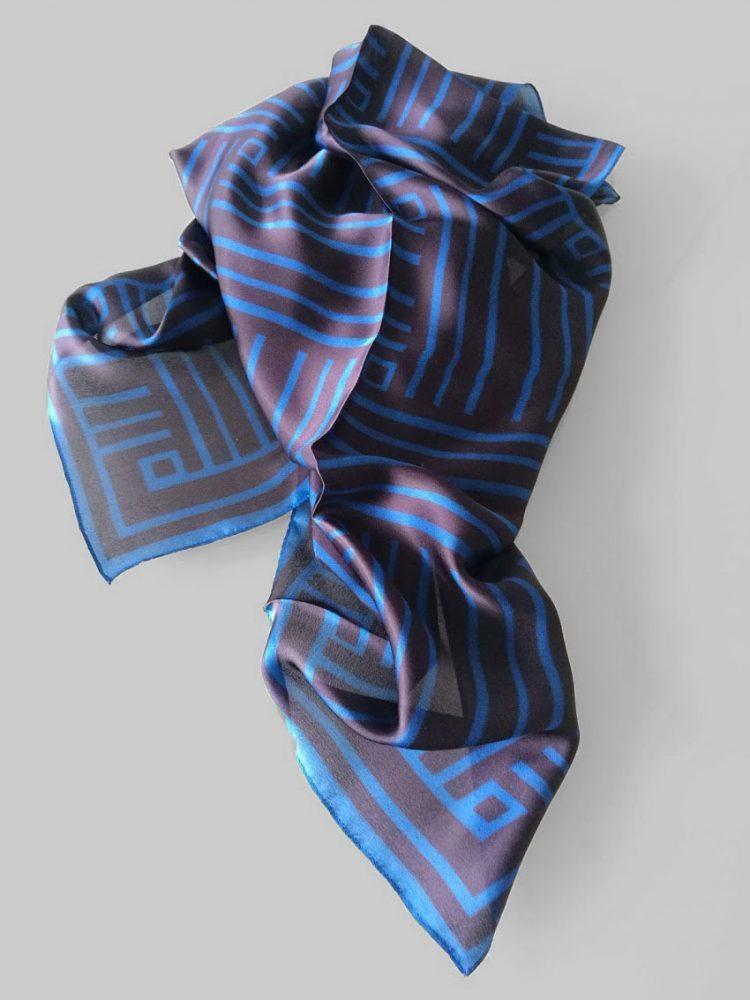 Shawl 'Framed Dark Blue'