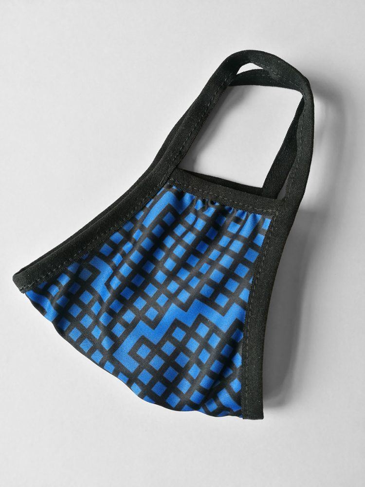 Mouth Mask 'Vibes M Blue'