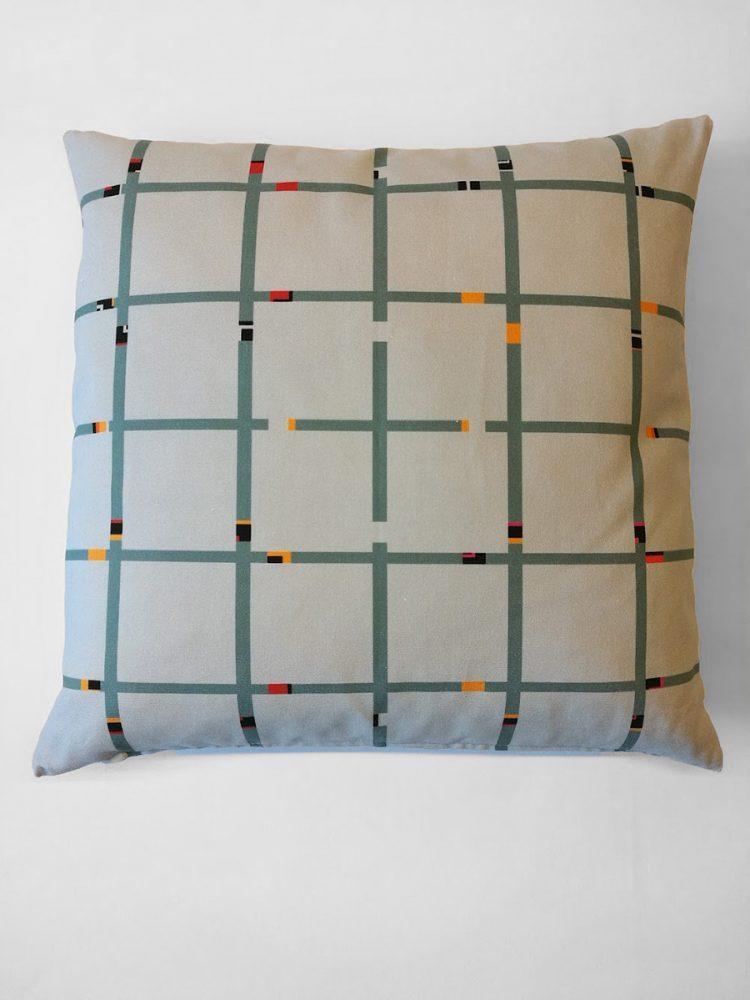 Pillow 'An-Jet Grey Green 1310'